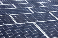 Modern solar panels Stock Images