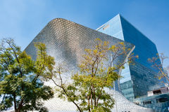 The modern Soumaya art museum in Mexico City. MEXICO CITY,MEXICO - DECEMBER 26, 2016 : The modern Soumaya art museum in Mexico City Royalty Free Stock Photography