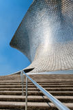 The modern Soumaya art museum in Mexico City. MEXICO CITY,MEXICO - DECEMBER 26, 2016 : The modern Soumaya art museum in Mexico City Royalty Free Stock Photos