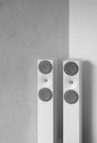 Modern sound system speakers Royalty Free Stock Images