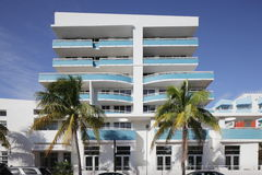 Modern South Beach condo Royalty Free Stock Photography