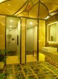 Modern spa binnenlands ontwerp Royalty-vrije Stock Afbeeldingen