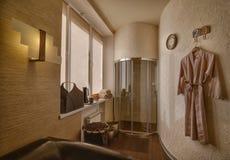 Modern spa center interior Royalty Free Stock Image