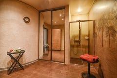 Modern spa center interior Stock Photography