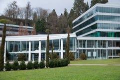 Modern spa complex in baden-Baden Royalty-vrije Stock Afbeeldingen
