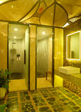 Modern spa interior design royalty free stock images