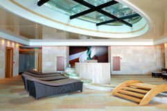 Modern SPA at the luxury hotel Royalty Free Stock Photos