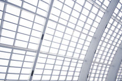 Modern Space. A modern space and building with skylight Stock Images