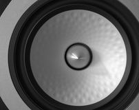Modern speaker detail Stock Photography