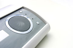 Modern Speakers. A mini modern set of speakers royalty free stock images