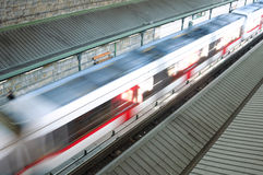 Modern speed train Royalty Free Stock Photos