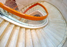 Modern spiral staircase Royalty Free Stock Images