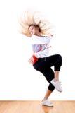 Modern sport ballet dancer Royalty Free Stock Images