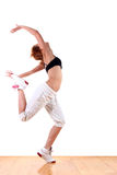 Modern sport ballet dancer Royalty Free Stock Images