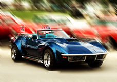 Modern sport car Royalty Free Stock Photos