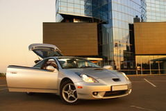 Modern sport car stock image