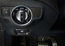 Modern sport car interior Stock Image