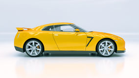 Modern sport car Royalty Free Stock Photography