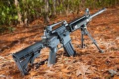 Modern sporting rifle Royalty Free Stock Image