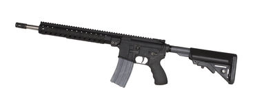 Modern sporting rifle royalty free stock photography