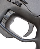 Modern sporting rifle trigger Royalty Free Stock Photography