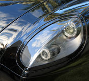 Modern sports car tail lamp Stock Photography