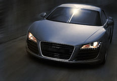 Supercar Motion royalty free stock photos