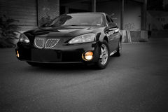 Modern Sports Sedan Royalty Free Stock Photography