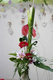 Modern Spring bouquet. In flowershop Stock Images