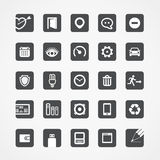 Modern square web icons Royalty Free Stock Image