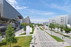 Modern stad, Munich, Tyskland Royaltyfria Foton