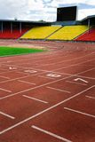 Modern stadion royalty-vrije stock fotografie