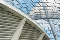 Modern Stadium Architecture Royalty Free Stock Photo