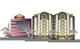 Modern stads- arkitektur 3 Arkivfoton
