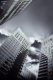 Modern stadsbyggnad Royaltyfri Fotografi