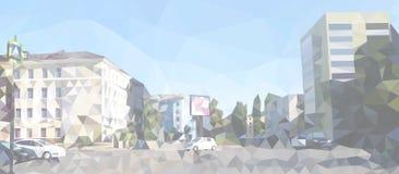 modern stadsliggande vektor illustrationer