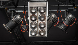 Modern stage lights Royalty Free Stock Photography