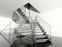 Modern stair Stock Image