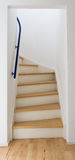 Modern stair of wood Stock Image