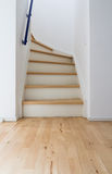 Modern stair of wood Royalty Free Stock Image