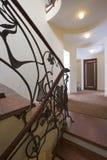 Modern staircase. Royalty Free Stock Photos