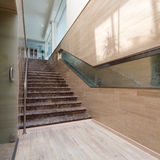 Modern staircase Stock Photos