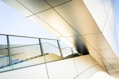 Modern staircase. And bridge at an office building in vienna Stock Photos