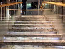 Modern  staircase Royalty Free Stock Photography