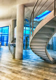 Modern staircase inside a office Royalty Free Stock Photos