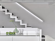 Modern staircase Stock Photo