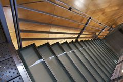 Modern staircase in a public building royalty free stock images