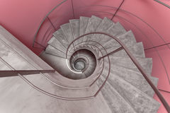 Modern Staircase. A Modern and Stylish Staircase Stock Photo
