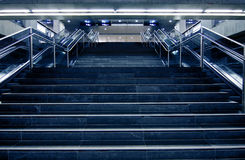 Modern staircases Royalty Free Stock Photos