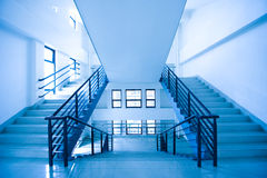 Modern stairs. In a building Stock Photography